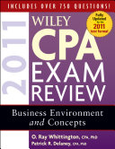 Wiley CPA Exam Review 2011  Business Environment and Concepts