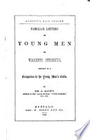 Familiar letters to young men on various subjects  etc Book PDF