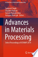 Advances in Materials Processing