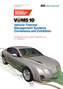 Vehicle thermal Management Systems Conference and Exhibition  VTMS10