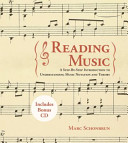 Reading Music Book