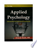 Applied Psychology: India Specific and Cross-cultural Perspectives