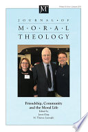 Journal of Moral Theology  Volume 10  Issue 1