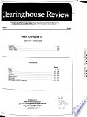 Clearinghouse Review