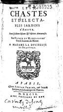 Chastes et Delectables Iardins