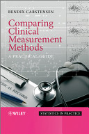 Comparing Clinical Measurement Methods Book