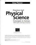 Prentice Hall Physical Science Concepts in Action Program Planner National Chemistry Physics Earth Science