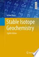 Stable Isotope Geochemistry Book