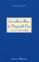 Pdf Les cahiers bleus de Margareth-Rose Telecharger