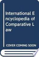 International Encyclopedia Of Comparative Law Instalment 12