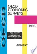 Oecd Economic Surveys Germany 1998