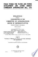 Testimony of Members of Congress and Other Individuals and Organizations Book