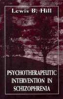 Psychotherapeutic Intervention in Schizophrenia