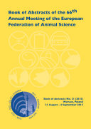 Book of Abstracts of the 66th Annual Meeting of the European Association for Animal Production [Pdf/ePub] eBook