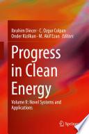 Progress in Clean Energy  Volume 2 Book