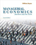 Managerial Economics  Markets and the Firm Book