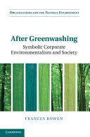 After Greenwashing