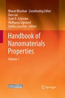 Handbook of Nanomaterials Properties Book PDF