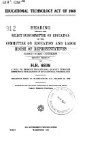 Education Technology Act of 1969