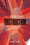 Regime of Obstruction