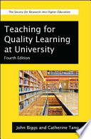 Teaching for Quality Learning at University Book