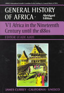 UNESCO General History of Africa, Vol. VI, Abridged Edition