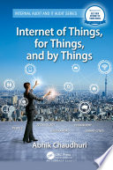 Internet of Things  for Things  and by Things Book
