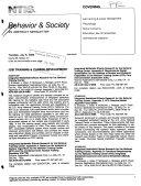 Behavior & Society