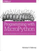Pdf Programming with MicroPython Telecharger