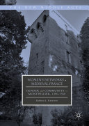 Pdf Women's Networks in Medieval France Telecharger