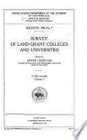 Survey of Land grant Colleges and Universities