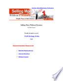 Sellingmorewithoutpressure Content Pdf