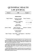 Quinnipiac Health Law Journal