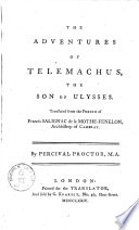 The Adventures of Telemachus  the Son of Ulysses
