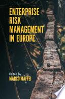 Enterprise Risk Management in Europe