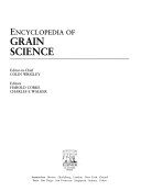 Encyclopedia of Grain Science Book