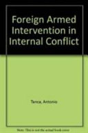 Foreign Armed Intervention in Internal Conflict