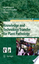 Knowledge and Technology Transfer for Plant Pathology Book