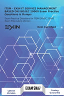 ITSM   EXIN IT SERVICE MANAGEMENT BASED ON ISO IEC 20000 Exam Practice Questions   Dumps