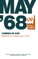 Pdf May '68: Coming of Age Telecharger