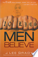 Ten Lies Men Believe Book
