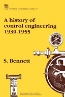 A History of Control Engineering, 1930-1955
