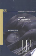 Education and Employment in OECD Countries