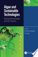 Algae and Sustainable Technologies
