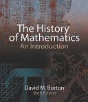 The History of Mathematics Book