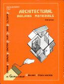 Architectural Bldg  Materials