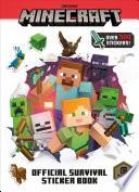 Minecraft Official Survival Sticker Book (Minecraft)
