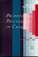 Professional Psychology in Canada