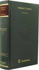 Halsbury S Statutes Of England And Wales