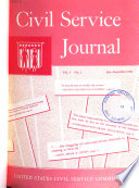 Civil Service Journal